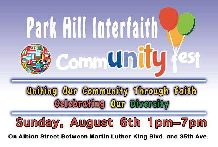 Park Hill Interfaith Community Fest - Temple Micah